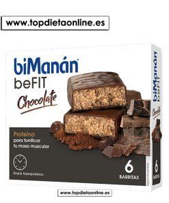 BeFit barritas chocolate Bimanan