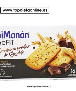 BeFit galletas de cereales con pepitas de chocolate Bimanan