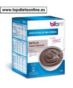 Natillas Chocolate - Biform 6 sobres
