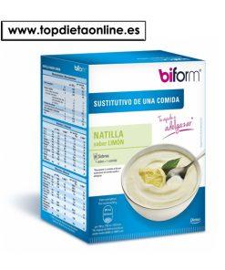 Natillas Limón - Biform 6 sobres