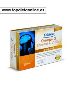Omega 3 Mental&Visión - Dietisa 45 perlas