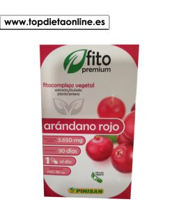 Arándano Rojo Fitopremium - Pinisan 30 caps