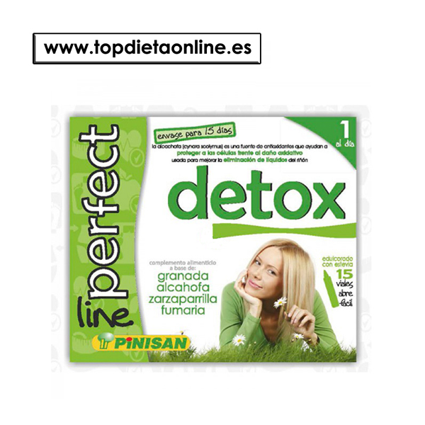 Detox perfect line de Pinisan