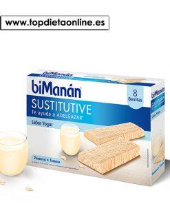 barritas sustitutivas yogur BiManan