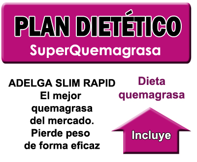 Plan dietético slim rapid