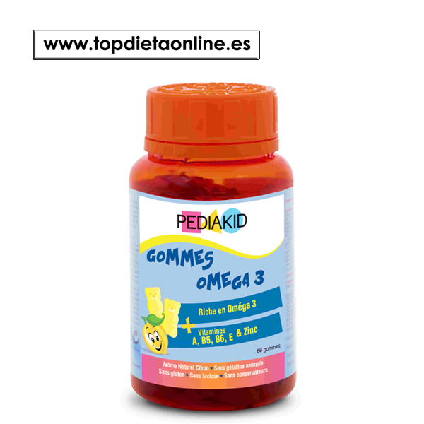 Gominolas omega 3 Pediakid