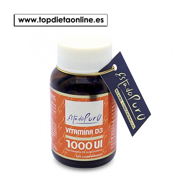 Vitamina D3 1000 de Estado Puro