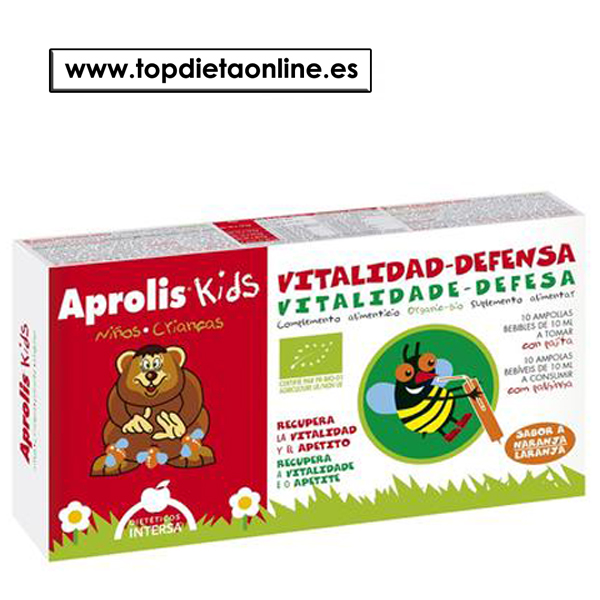 Vitalidad Defensas Aprolis Kids de Intersa
