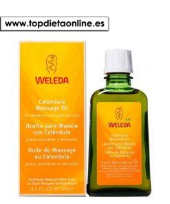 aceie de masaje caléndula de weleda