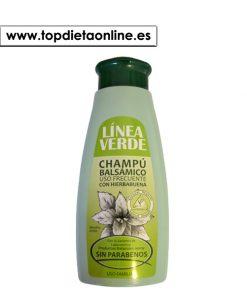 champú balsámico hierbabuena uso frecuente linea verde