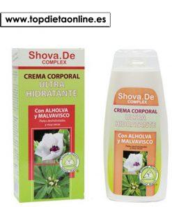 crema corporal ultra hidratante Shova.de