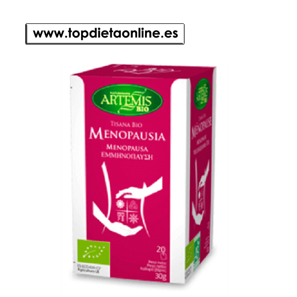 tisana menopausia bio artemis