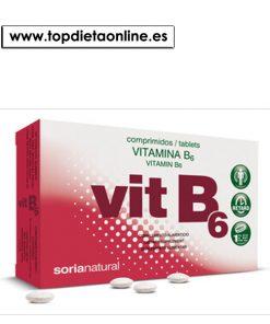 Vitamina B6 retar de Soria Natural