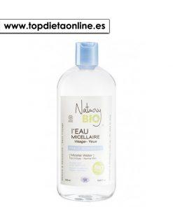 agua micelar piel normal natury bio