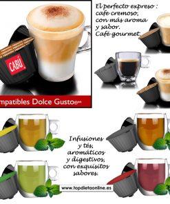 Capsulas dolce gusto compatibles