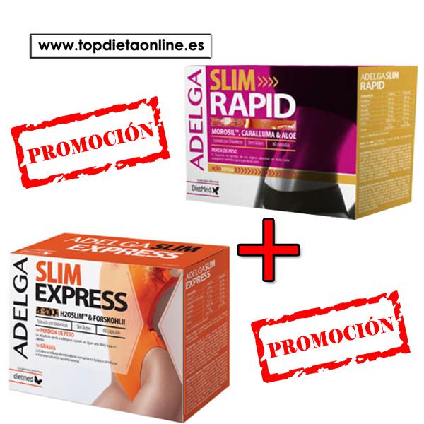 Promoción Slim rapid + slim express