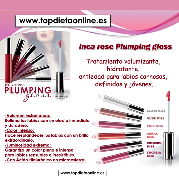 GLOSS Inca Rose