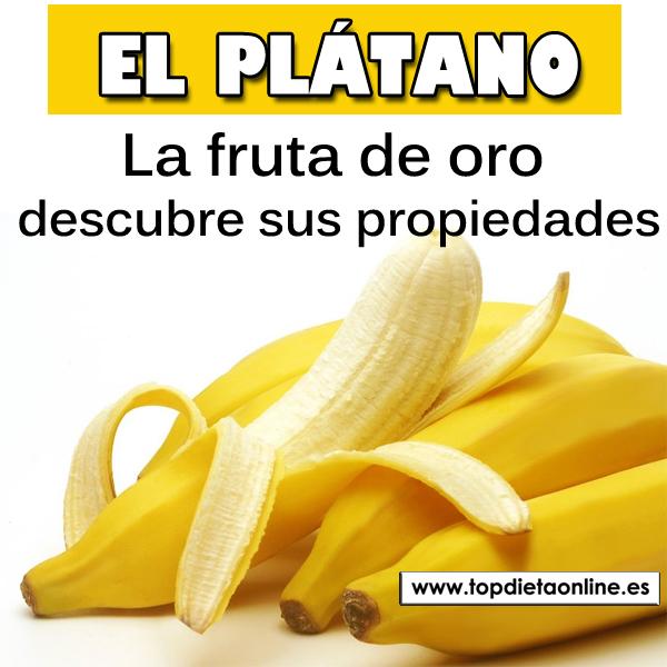 El plátano, la fruta de oro