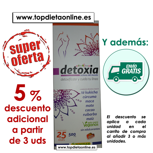 Detoxia de Pinisan 5% de descuento
