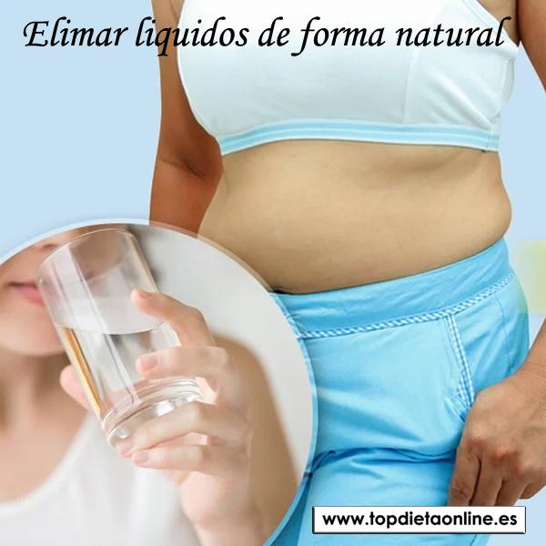 Eliminar líquidos de forma natural