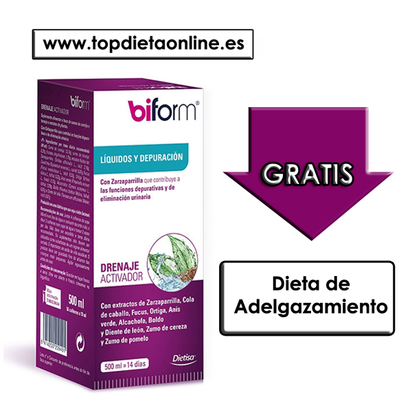 drenaje activador Biform 500 ml