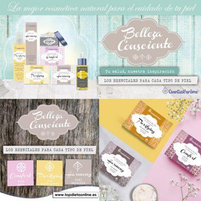 Cremas DD Belleza Consdiente Esential Aroms