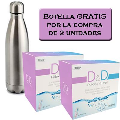 Botella gratis Detox&Dren