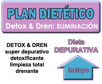 Plan dietético Detox&Dren