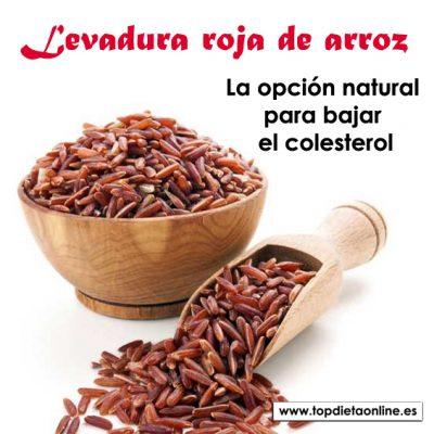 Levadura roja de arroz. La opción natural para bajar el colesterol