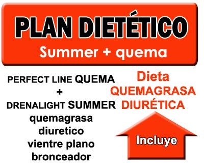 Plan dietético adelgazar antes del verano