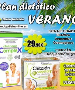 Pack ahorro drenaje complex + chitosán