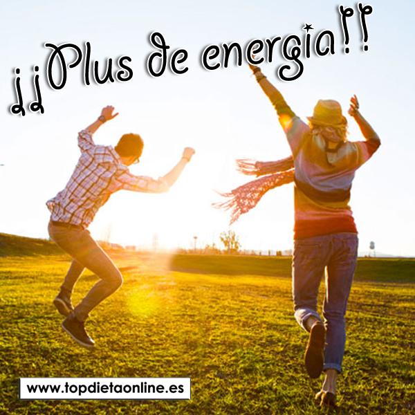 Plus de energía con productos naturales