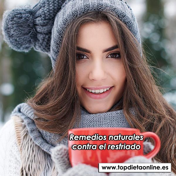 Remedios naturales contra el resfriado