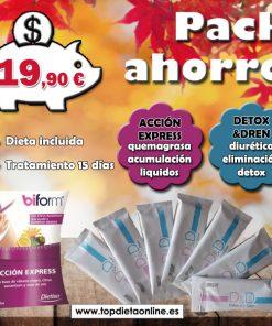 Dieta Detox&Dren + acción express