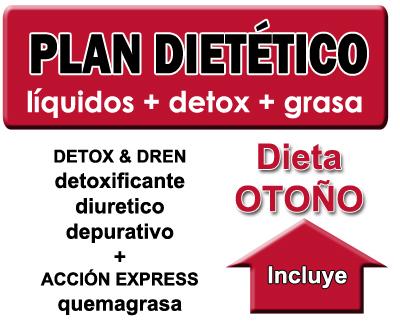 Plan dietético otoño