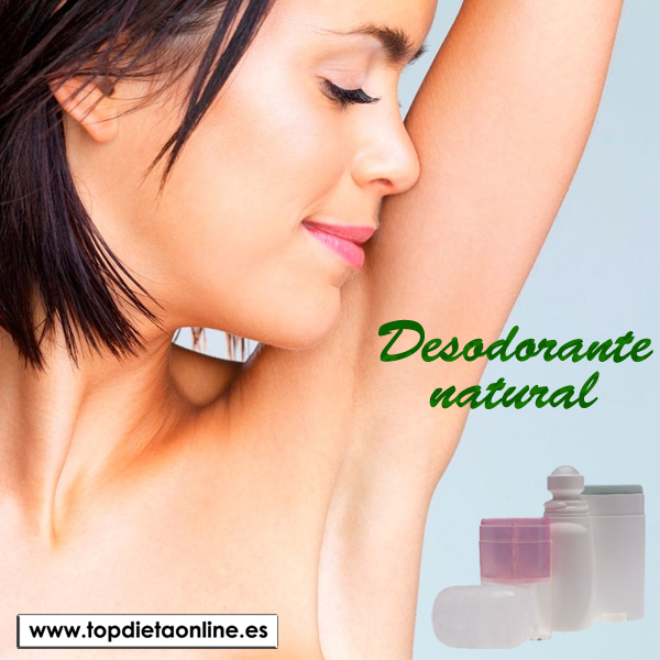 Desodorante natural. Beneficios