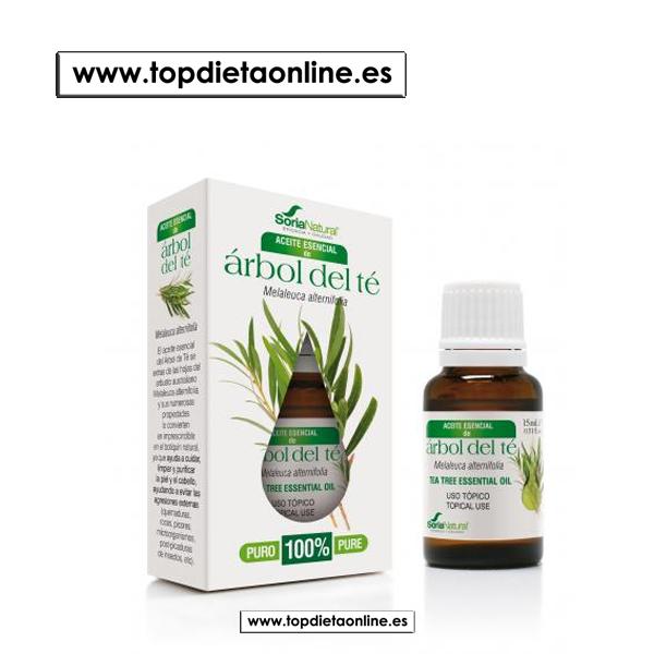 Árbol de té aceite esencial de Soria Natural