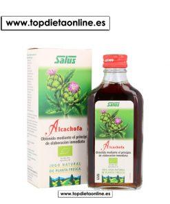 jugo de alcachofa de salus