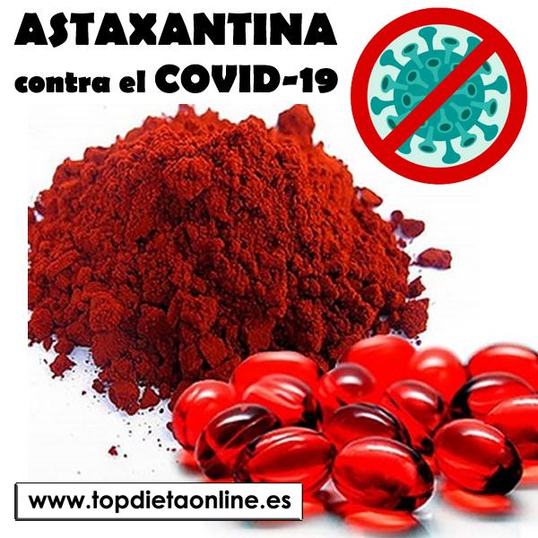 Astaxantina contra el COVID