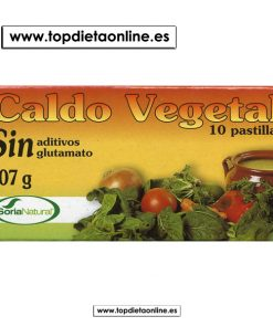 Caldo vegetal sin glutamato Soria Natural