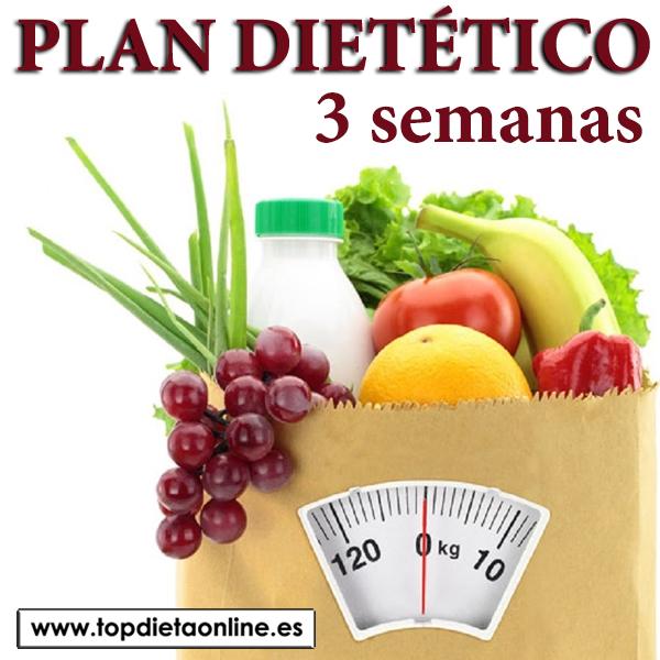 Plan dietetico 3 semanas (six plan + total slim)