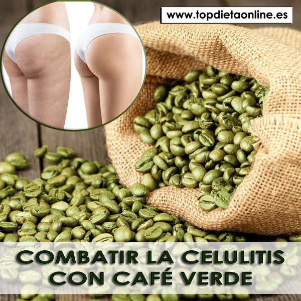 Combatir la celulitis con café verde