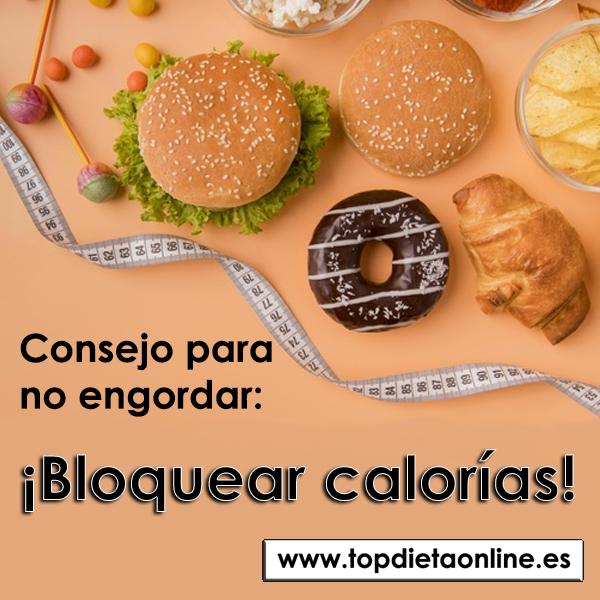 Bloquear calorías