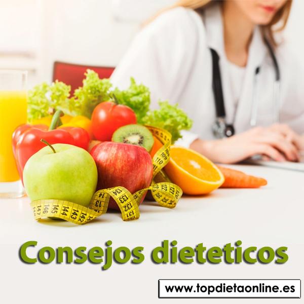 Consejos dieteticos