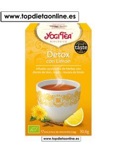 Infusión Detox con Limón - Yogi Tea 17 bolsitas