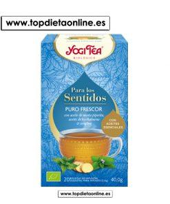 Infusión Para los Sentidos Puro Frescor - Yogi Tea 20 filtros
