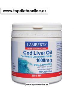 Aceite de Hígado de Bacalao - Lambertes 1000 mg