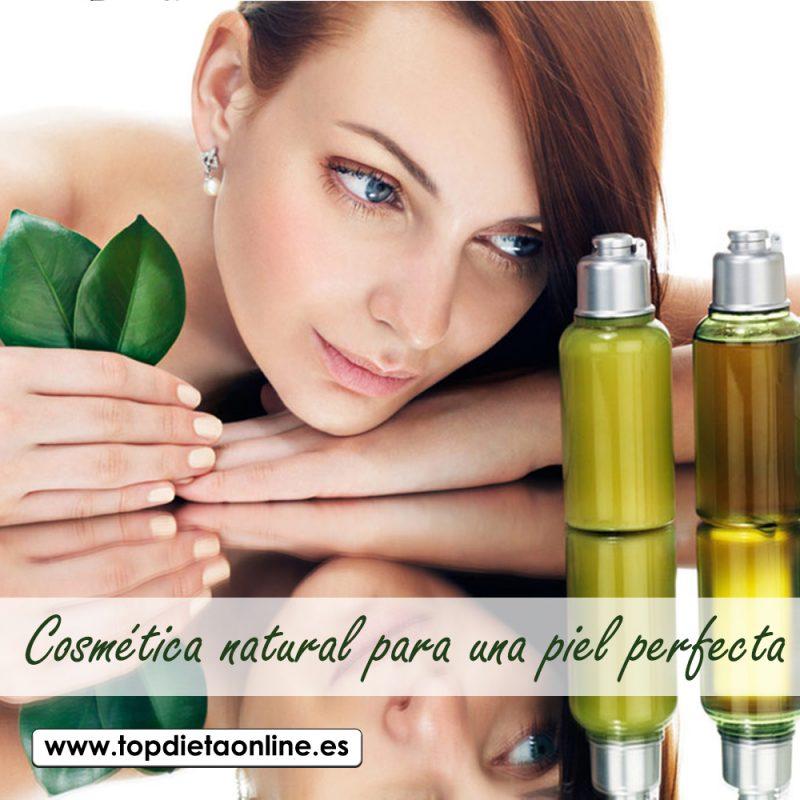 Cosmética natural para una piel perfecta