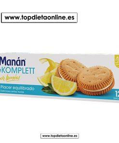 beKOMPLETT Sabor limón - Bimanán 12 galletas