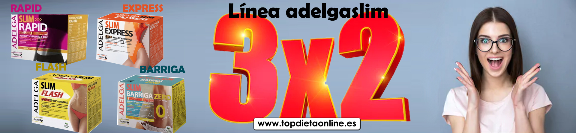 3x2 línea adelgaslim